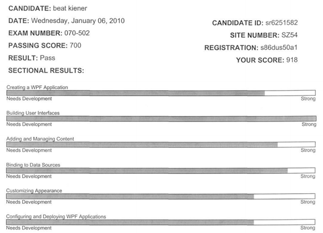 My first Microsoft Certification Exam | Kiener\'s Blog